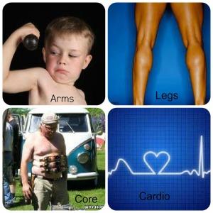 arm leg core cardio