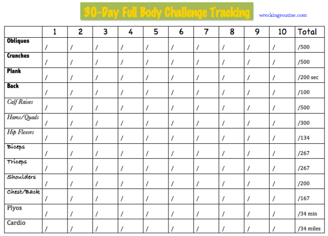 ... download a more printer friendly version of the tracking sheet here