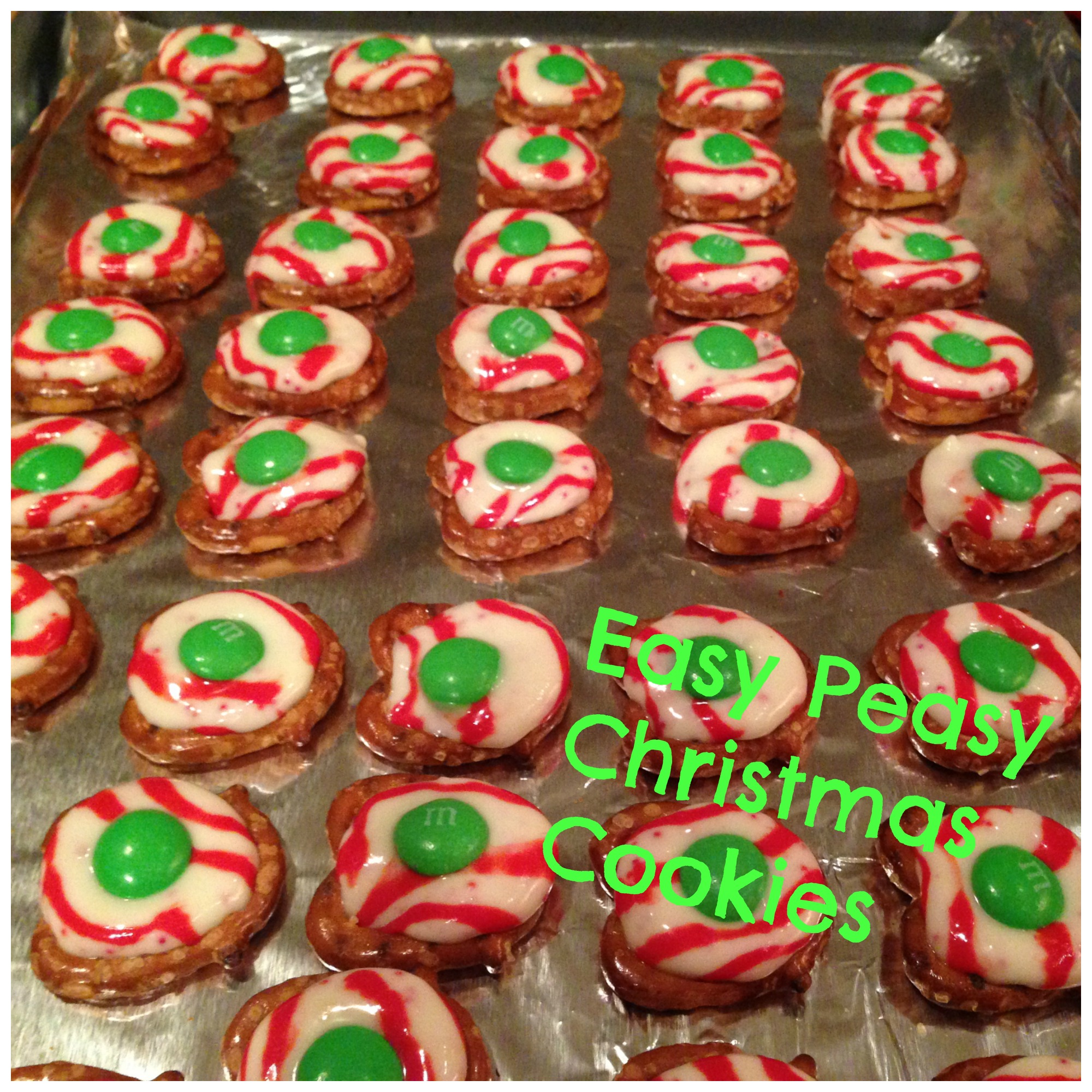 Easy Peasy Christmas Cookies